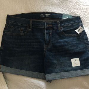 Mid Rise Jean Short | Old Navy